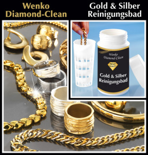 Diamond Clean Gold & Silver reinigingsbad, 375 ml