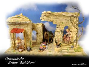 Oosterse krib Betlehem