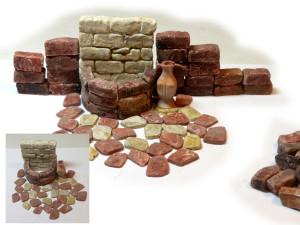 Krippen-Bausatz Genezareth Brunnen