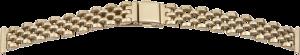 metalen band edelstaal 16mm geel PVD, gepolijst