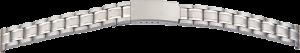metalen band edelstaal 14mm staal gematteerd/gepolijst