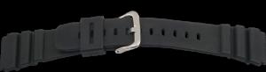 rubberen band 22mm zwart