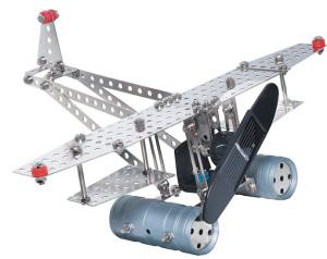 eitech Metalen bouwpakket met zonnecel en motor