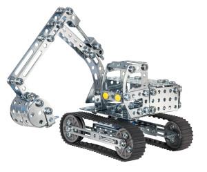 eitech Metal construction kit Digger