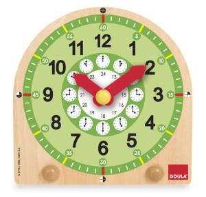 GOULA Klok om de tijd te leren