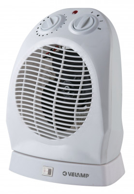 Fan heater rotatable