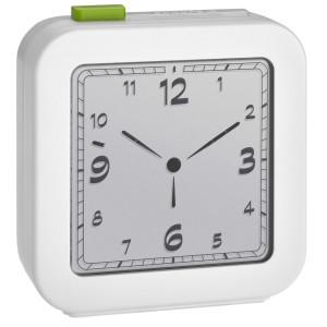 TFA Wekker tijdsein gestuurd LCD, wit