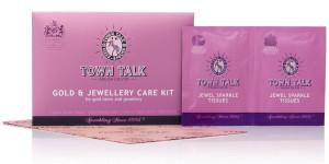 Mr Town Talk goud reiniging set