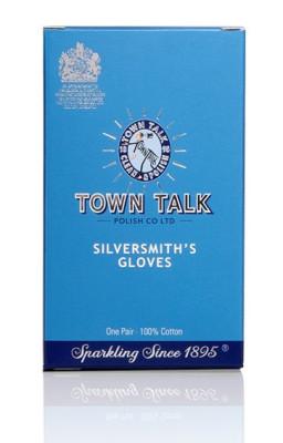 Mr Town Talk zilversmederij handschoenen