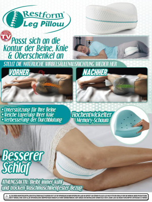 Beinkissen Restform Leg Pillow