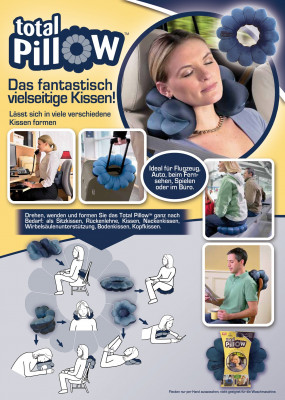 Mehrzweck-Kissen Total Pillow