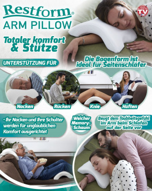 Stützkissen Restform Arm Pillow