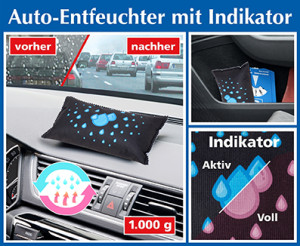 Auto-Entfeuchter mit Indikator, 2er-SPAR-Set