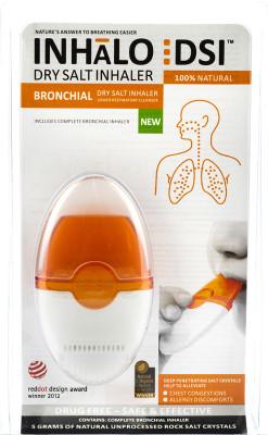 Bronchiale inhalator - Droogzouttherapie - Haal diep adem