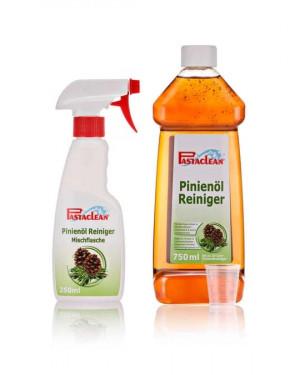 Pastaclean Dennenolie reiniger concentraat, 1 liter met toebehoren