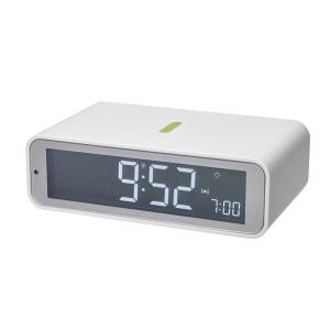 TFA radio alarm clock Twist, white