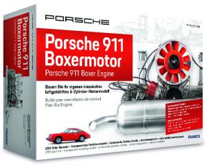 Klassieke Porsche 911 motor, schaal 1:4