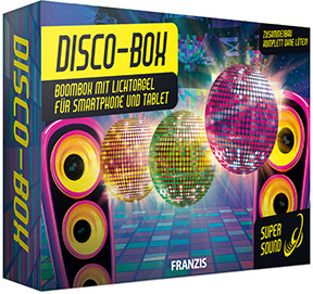 Disco box kit with lighting console