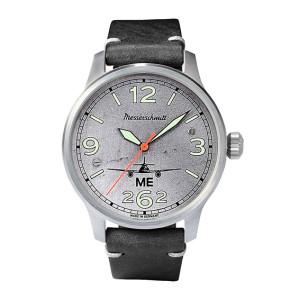 MESSERSCHMITT Aero met echt vliegtuigplaatwerk - elk horloge is uniek