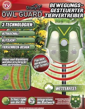 Tuin uil Owl Guard - beweging gestuurde dierenverjager