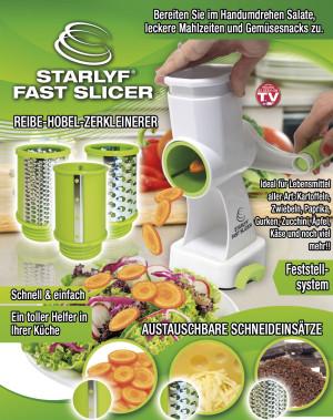 Fast Slicer Multi Slicer – raspen, schaven en fijn maken