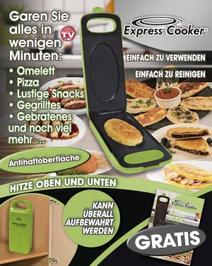 Express Cooker Multigrill voor in de keuken - Groen