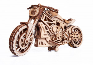 WOOD TRICK motorcycle, 203 components
