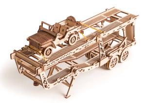 WOOD TRICK Autotrailer voor trekker, 200 onderdelen