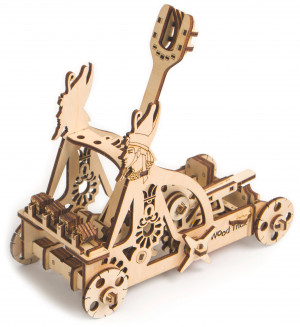 WOOD TRICK Catapult, 96 components