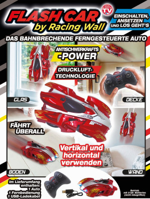 Flash Car by Racing Wall - rijdt overal - spectaculair