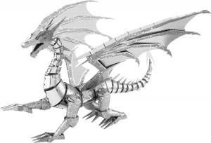 METAL EARTH 3D kit silver dragon