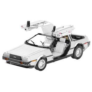METAL EARTH 3D Bouwset Delorean