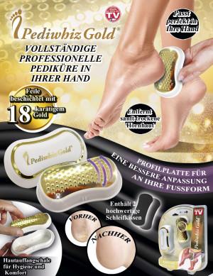 Pediwhiz Gold - de professionele pedicure