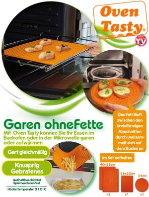 Oven Tasty - eindelijk bakken zonder vet! Voordeelset!