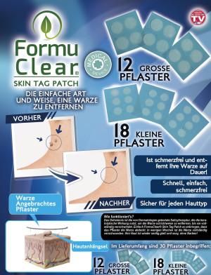 Formu Clear Skin Tag Patch - assortiment van 30 stuks - wrattenpleisters