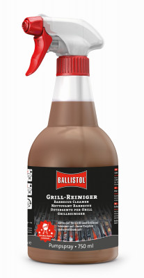 BALLISTOL Grill Cleaner, 750ml - removes burnt-in residues without leaving any excess dirt