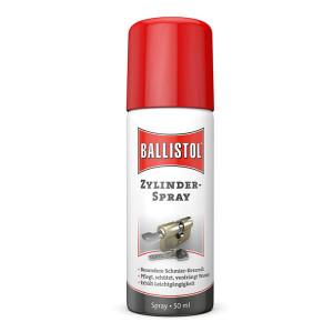 BALLISTOL cilinderspray, 50 ml - de speciale verzorging voor cilinders en sloten