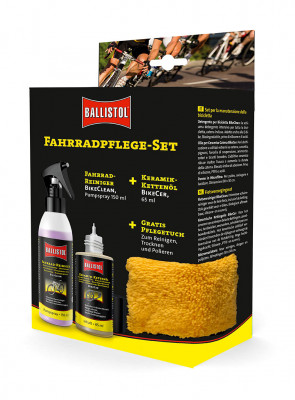 BALLISTOL bicycle care set - Contains all important utensils for care and cleaning