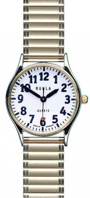 Uhren Manufaktur Ruhla - Speciaal horloge - Extra grote cijfers - Hoog contrast - Voor mensen met een visuele handicap