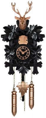 Koekoeksklok Effectline koper - zwart