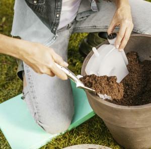 Kniekussen voor tuinieren - houdt je droog, warm en ontziet de gewrichten