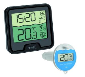 TFA Tijdsein gestuurde Zwembadthermometer