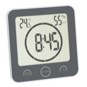 TFA bathroom clock / kitchen clock with timer