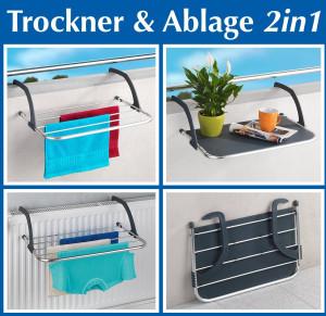 Tumble dryer and shelf 2in1 - the practical helper