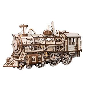 ROKR 3D Bouwset Locomotief Prime Steam Express