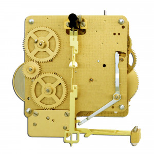 tafel uurwerk Hermle 341-020, 8-dagen, pendule 25cm , gong slag