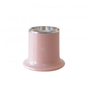 Horlogemakersloep 2,5x biconvexe lens Bergeon - Speciale editie in het roze