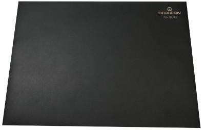 Werkblad zwart antislip Bergeon