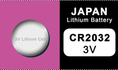 Japan 2032 lithium knoopcel