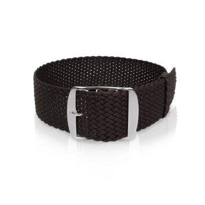 Perlon band zwart, 18mm